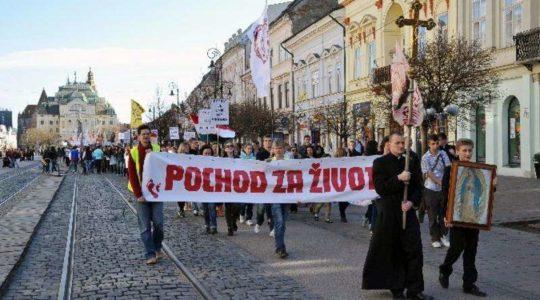Košice za život - 23. marec