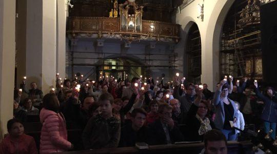 Ohliadnutie za Večerom milosrdenstva v Trnave, dnes večer pozývame do Bratislavy