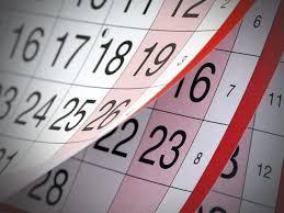 Zopár dôležitých dátumov pre rok 2018